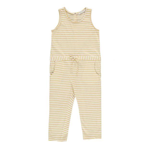 cc881e434e0 Striped Jumpsuit Yellow Babe   Tess Fashion Baby