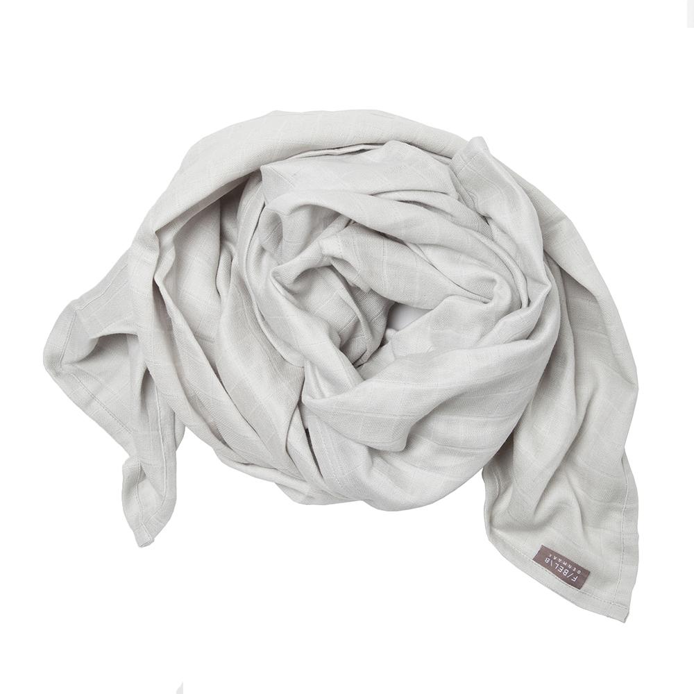 Lange en mousseline de coton bio 120x120 cm