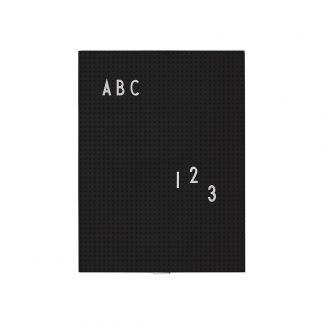 planning semaine blanc design letters design adulte. Black Bedroom Furniture Sets. Home Design Ideas