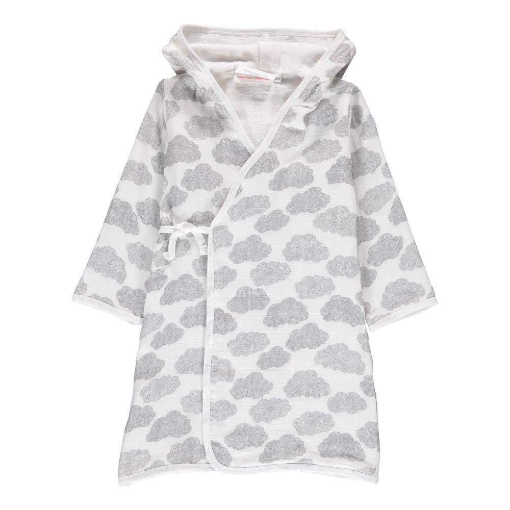 Pepin Cloud Dressing Gown White Moumout Design Children