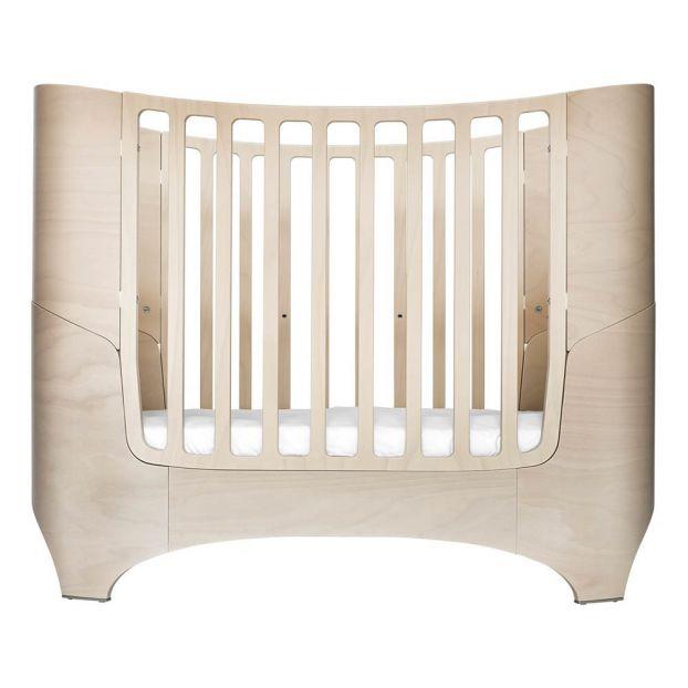 Mitwachsendes Babybett Komplett Mit Matratze Comfort7 Beige Limed