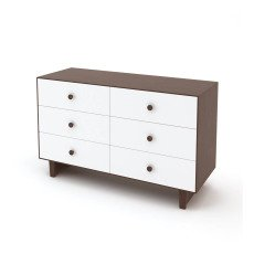 product-Oeuf NYC Commode 6 tiroirs Merlin base Sparrow