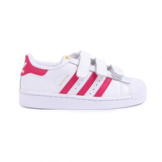 cfe387c24c71a Adidas Superstar Foundation Pink Velcro Trainers-product