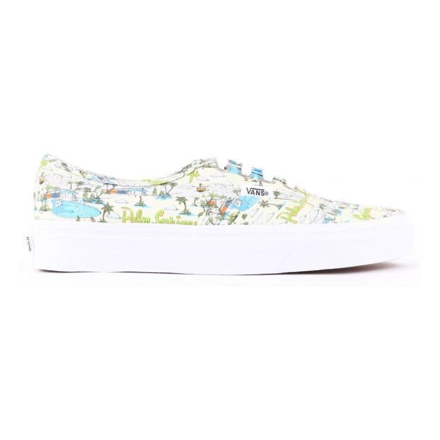 Sneakers Lacci Palm Spring Authentic Beige Vans Scarpe Teenager