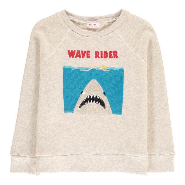 Enfant Mode Chiné Requin Morley Bass Gris Adolescent Sweat SAqpw