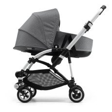 product-Bugaboo BEE5 Convertible Pushchair with Aluminium France, Black Seat and Bassinet