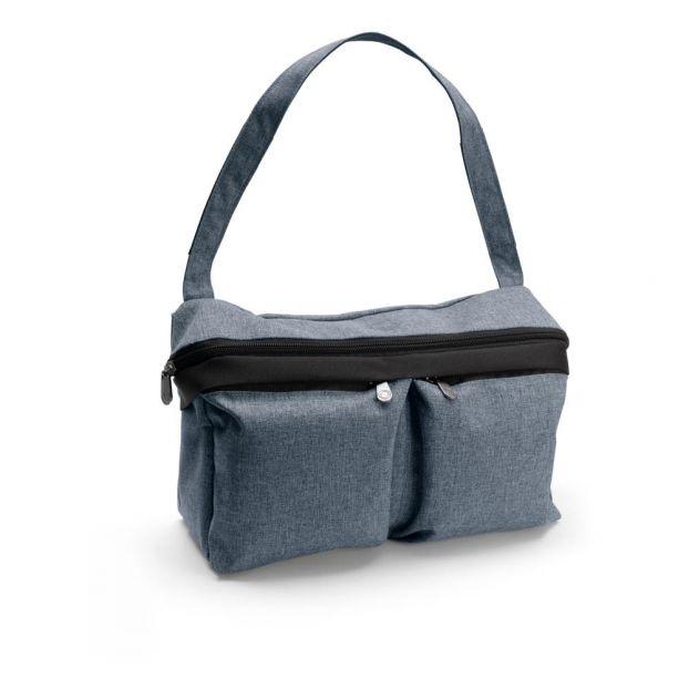 a74d7b7e4 Bolsa organizadora Azul color natural Bugaboo Design Bebé