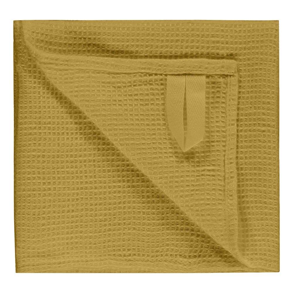 Asciugamano Nido d'Api in Lino lavato