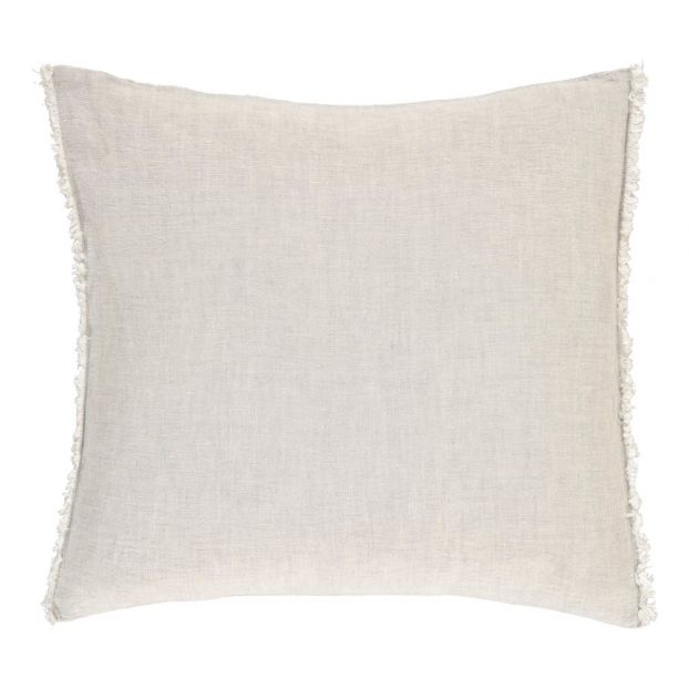 Coussin Lin lavé Chambray Chambray Gris Communauté