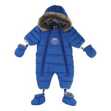 product-Timberland Fleece Lined Hooded Snowsuit