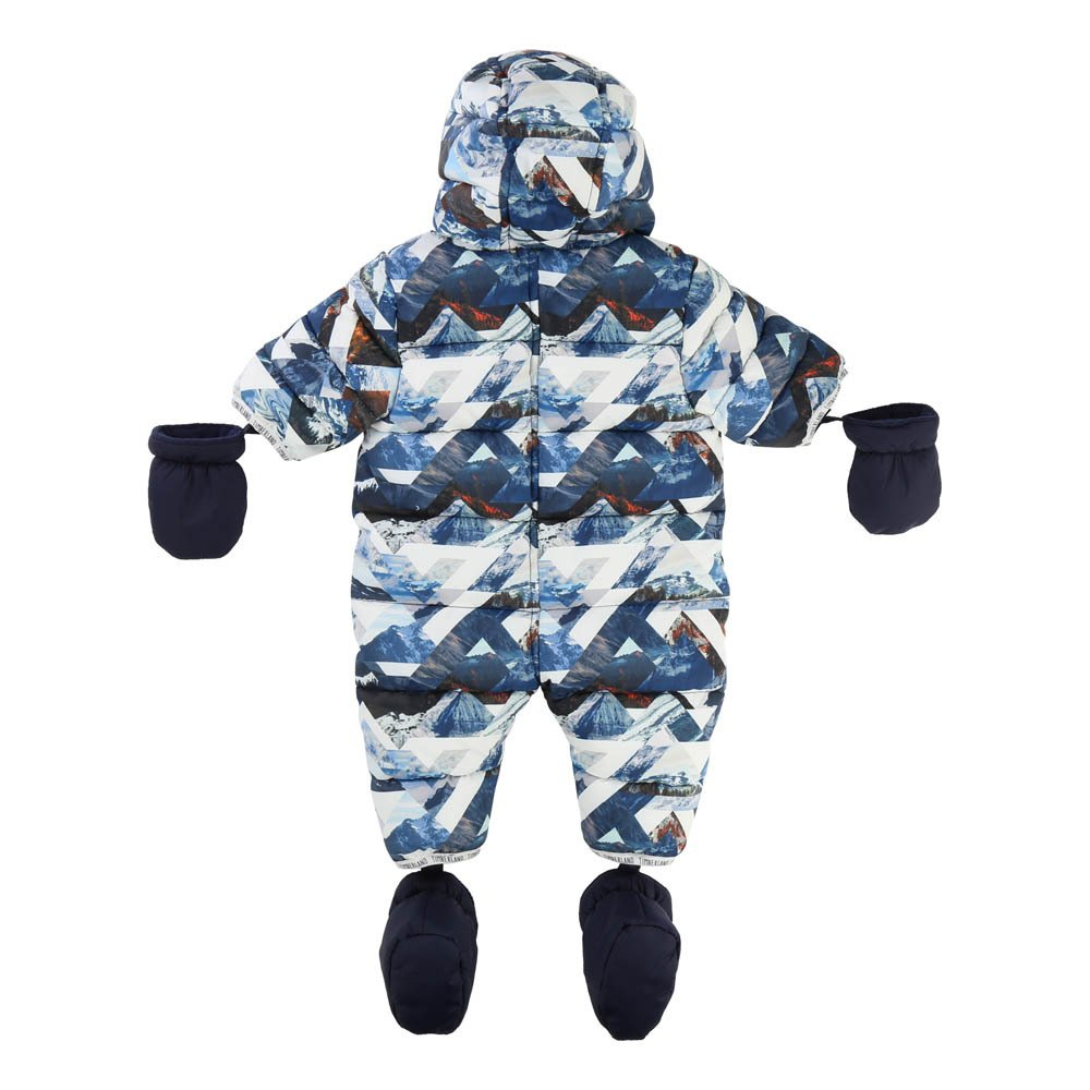 Timberland All-over Print Hooded Snowsuit