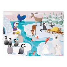 product-Janod Life On Ice Touch & Feel Puzzle