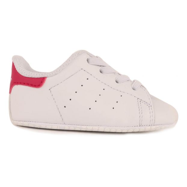 1fd704043b6d Crib Stan Smith Elasticated Lace-Up Slippers Pink Adidas Shoes
