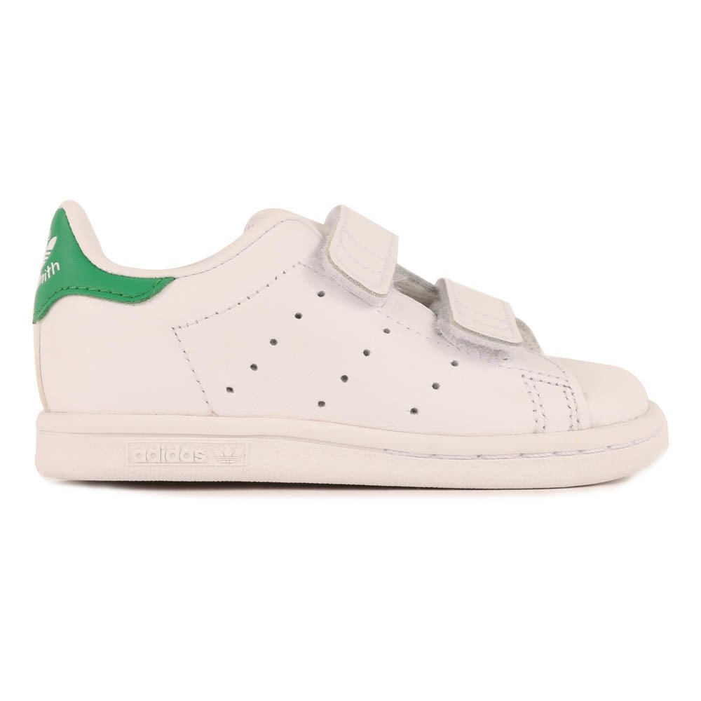 35251e22b40385 Two Strap Velcro Stan Smith Trainers Green Adidas Shoes Baby