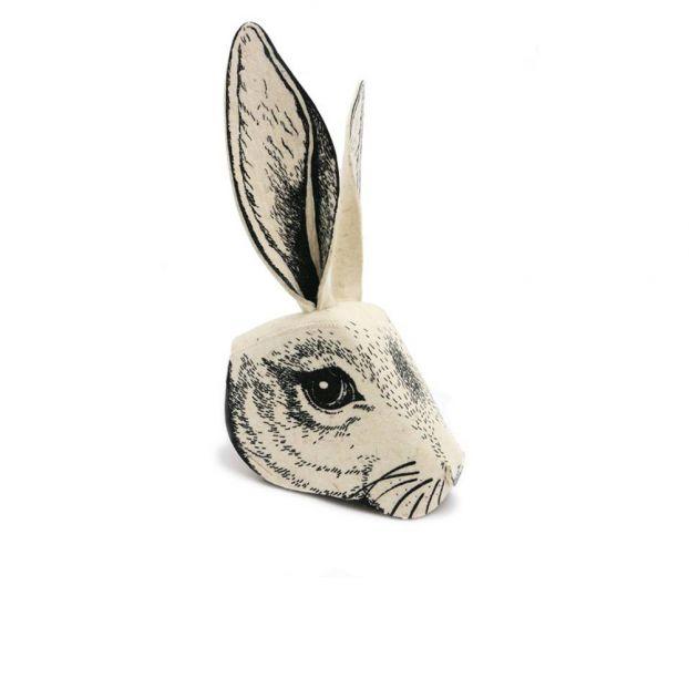 Sombrero - máscara cabeza de conejo en fieltro Frida s Tierchen 09f4c751ed6b