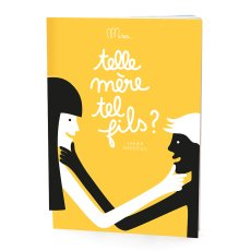 "product-Minus Editions ""Telle mère, tel fils?"" Mother/Son Notebook"