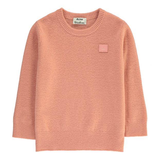 9ccfe63d99f6 Mini Nalon Wool Jumper Pink Acne Studios Fashion Children