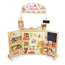 product-Vilac Wooden Market with 30 Accessories