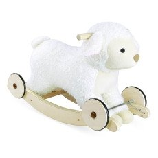 product-Vilac 2-in-1 Wooden Rocking Sheep