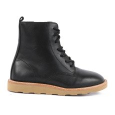 product-Young Soles Rodney Zipped Lace-Up Leather Ankle Boots