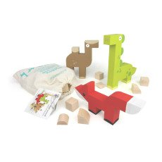 product-Milaniwood Animals Wooden Construction Game