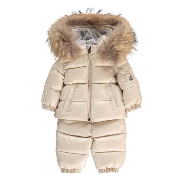 32d41bef9 Remy Ski Jacket + Trousers Set Sand coloured