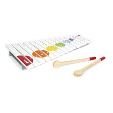 product-Janod Confetti Wooden Xylophone with 2 sticks