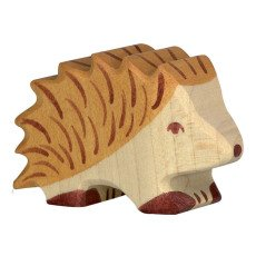 product-Holztiger Wooden Hedgehog Figurines