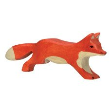 product-Holztiger Wooden Fox Figurine