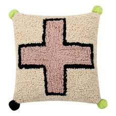 product-Lorena Canals Coussin Cross 38x38 cm