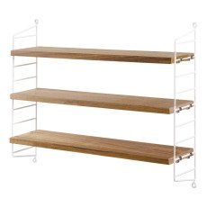 product-String Furniture Pocket Oak Shelf