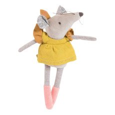 product-Moulin Roty Doudou souris Lisette 20 cm