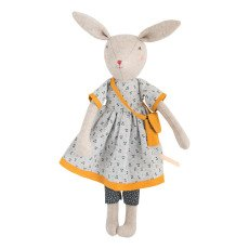 product-Moulin Roty Poupée lapin Maman Rose 40 cm