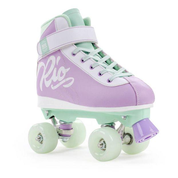 Rollschuhe Milkshake Lila Rio Roller Spiele Und Freizeit Teenager