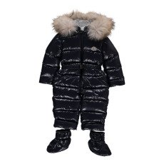 product-Moncler Crystal Fur Lined Hooded Snowsuit