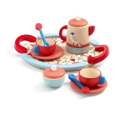 product-Djeco Wooden Tea Set