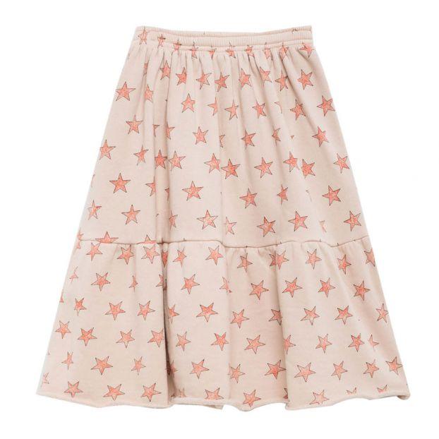 260c59656 Cat Star Skirt Ecru The Animals Observatory Fashion Children