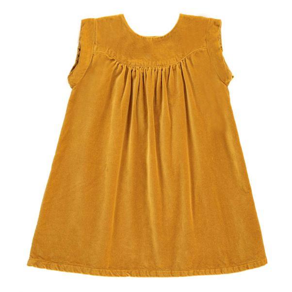 Gilet bebe jaune moutarde