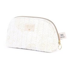 product-Nobodinoz Holiday Bubble Organic Cotton Toiletry Bag