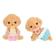 product-Sylvanian Poodle Twins