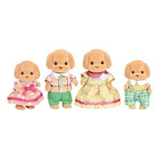 product-Sylvanian Poodle Family