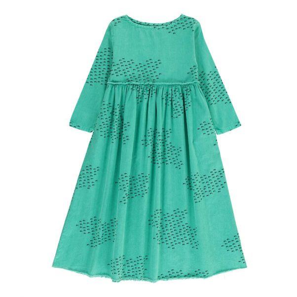 00e82964e055a Robe Longue Coton Bio Vert Bobo Choses Mode Enfant