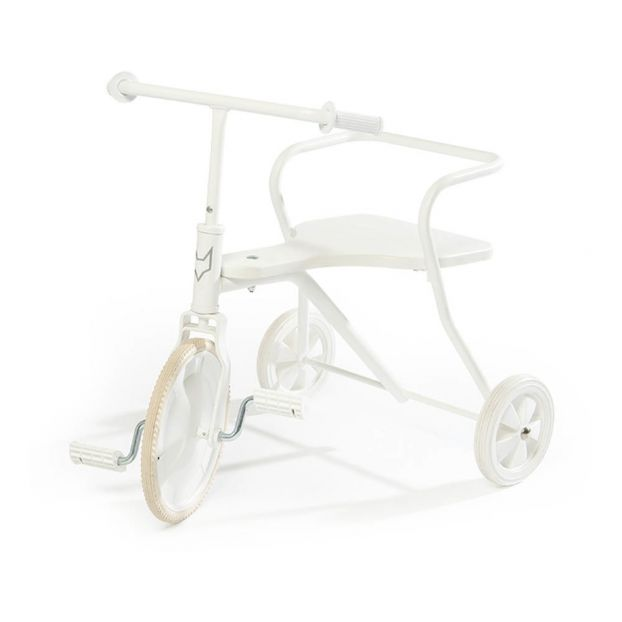 Metal Tricycle White by Smallable