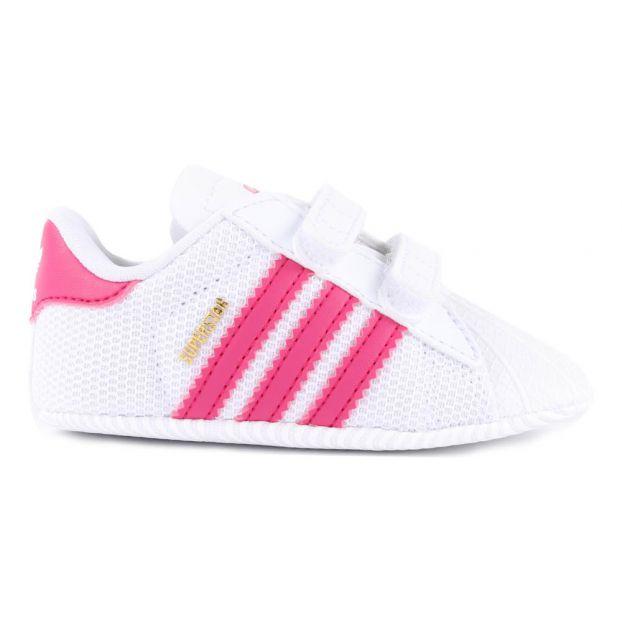 83be2205547aeb Babyschuhe Superstar Crib Rosa Adidas Schuh Baby