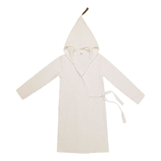 eb315bc8c2 Adult Organic Cotton Dressing Gown Natural S000 Numero 74 Design