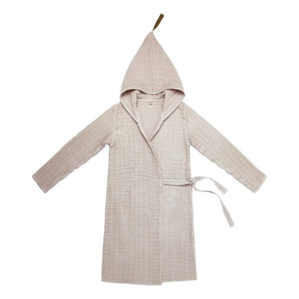 Adult Organic Cotton Dressing Gown Powder S018 Numero 74 Design