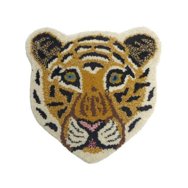 Leopard Head Rug 32x32cm Smallable Home Design Adult 955ca1bca