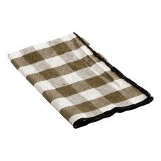 product-Maison de vacances Bourdon Black Mesh Gingham Napkin