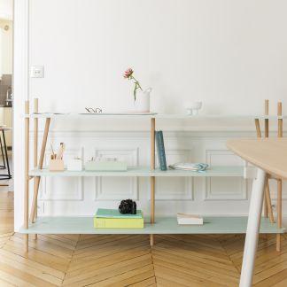 Solid Wood Divider Natural Red Edition Design Adult