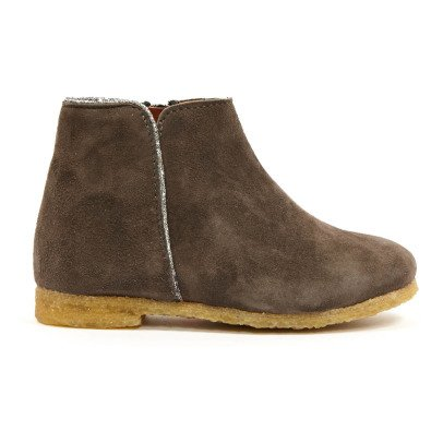Boots Liseré Argenté Ida